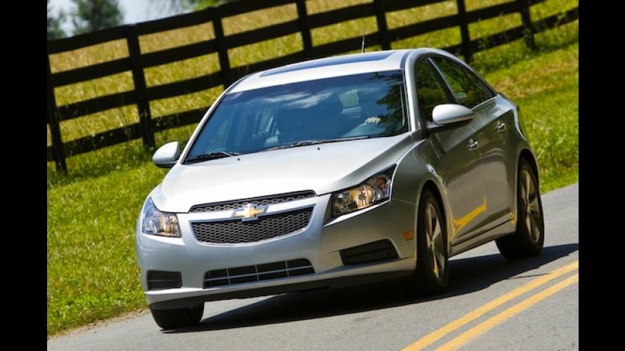 Chevrolet volta atrás e diz que ainda não normalizou produção do Cruze nos EUA