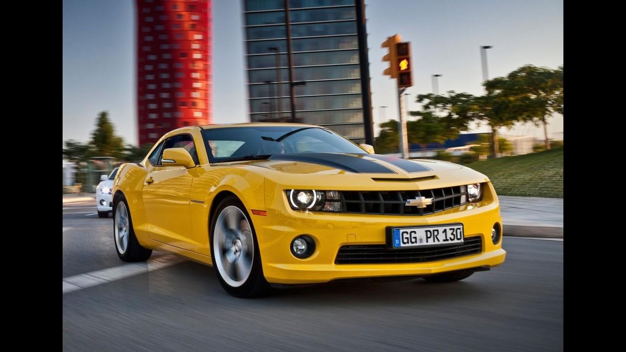 Chevrolet promete mostrar Camaro reestilizado no Salão de Nova York