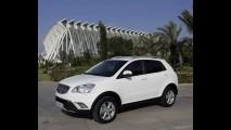 SsangYong Korando ganha versão bi-combustível (gasolina e GLP) na Itália