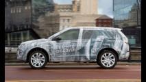Novas imagens do Land Rover Discovery Sport revelam terceira fileira de bancos