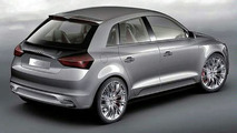 Audi A1 Sportback Concept Surfaces