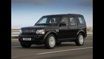 Blindado oficial: Land Rover Discovery 4 Armoured 2011