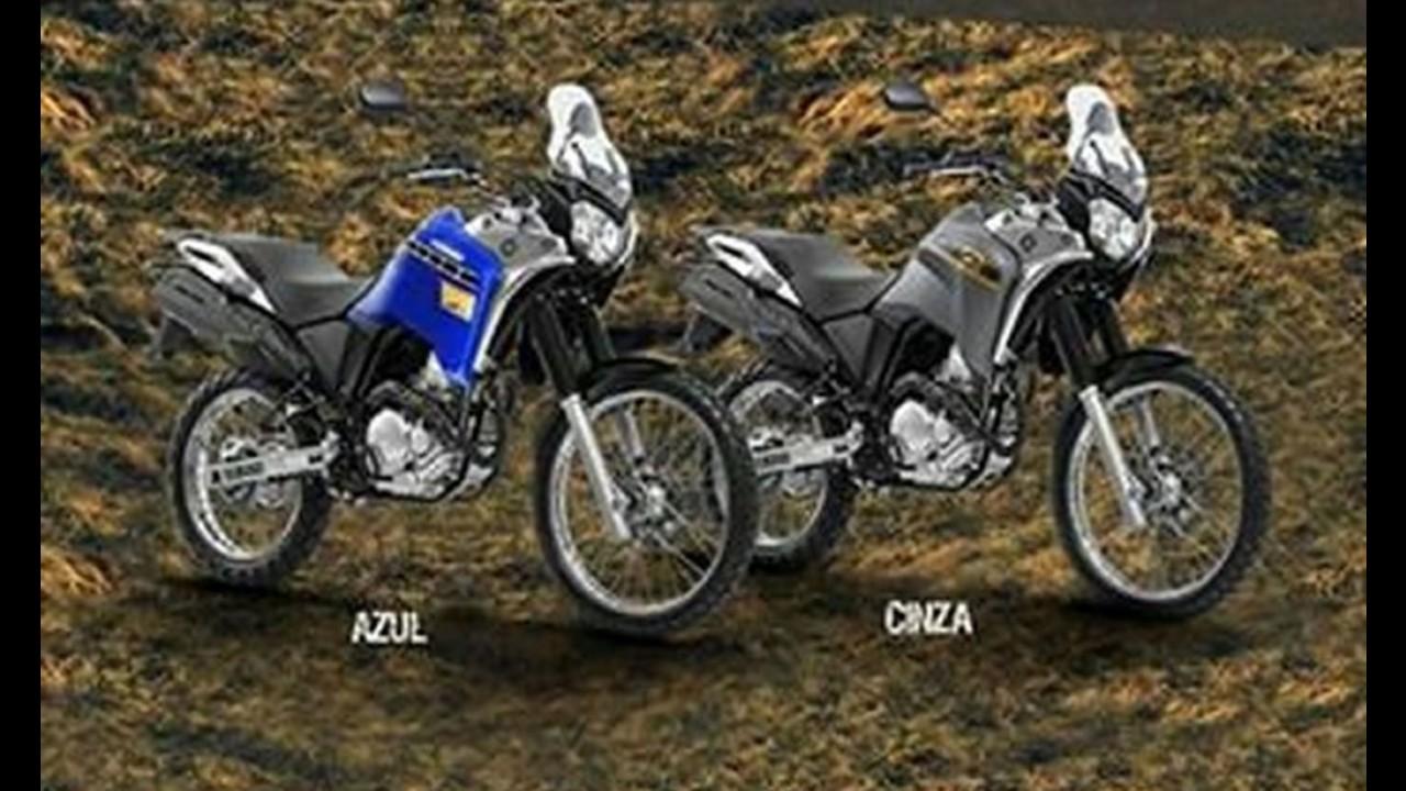 Imagens de catálogo revelam a nova Yamaha Ténéré 250 BlueFlex 2016