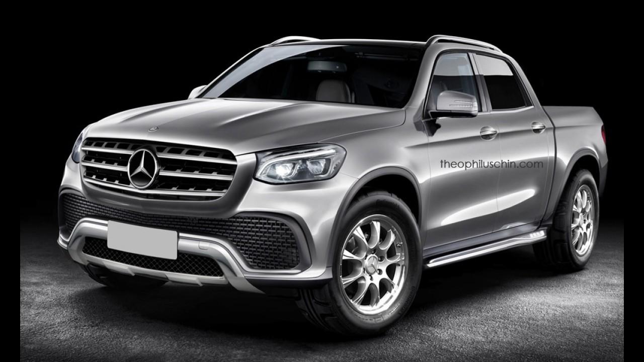 Picape média da Mercedes feita na Argentina deve se chamar GLT