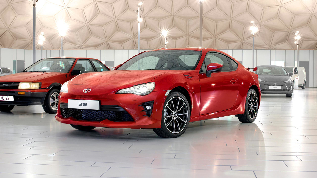 2017 Toyota GT86 Heritage Collection