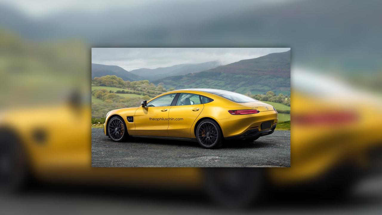 Mercedes-AMG GT 4 tasarım çalışması
