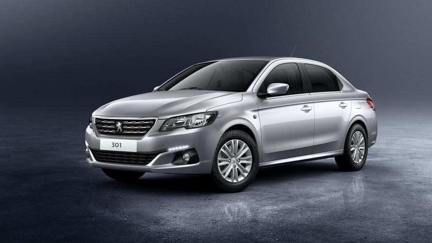 Peugeot 301 makyajı beklenen değişiklikler sunuyor