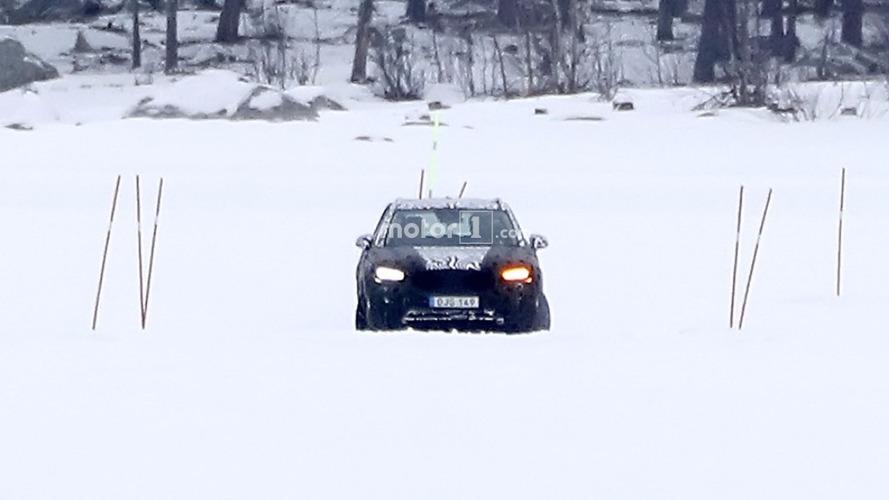 Volvo XC40 flagra