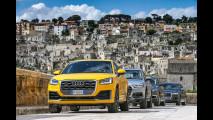 Audi Q, la gamma SUV in prova in Basilicata