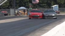 Nissan GT R Crash