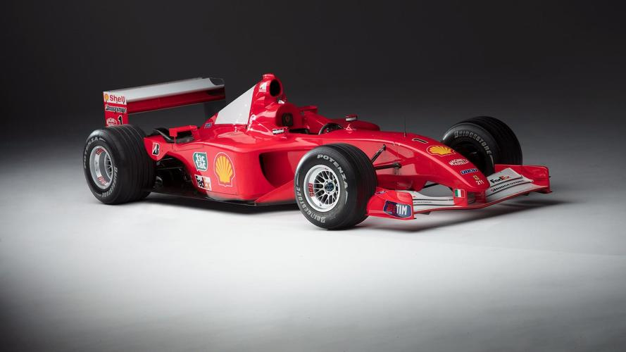 Schumacher's Coveted Ferrari F1 Car Auctioned For $7.5M [UPDATE]