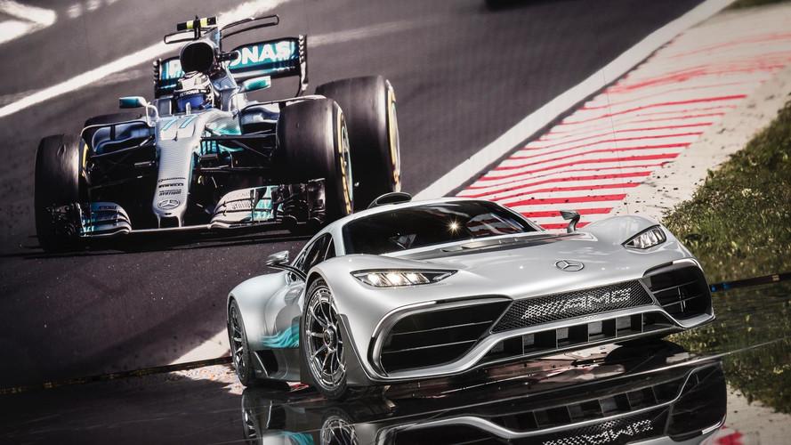 VIDÉO - Les secrets de la Mercedes-AMG Project One