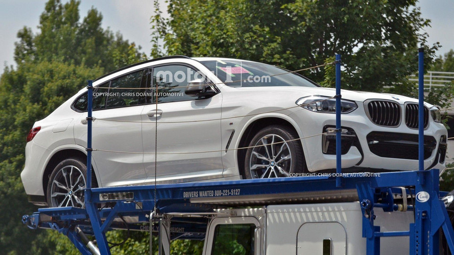 BMW X4 2018 sans camouflages