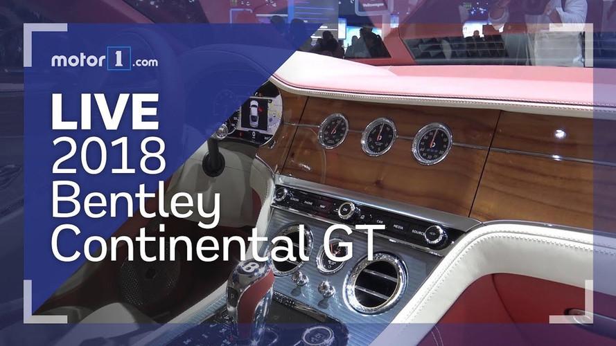 2018 Bentley Continental GT Live Look