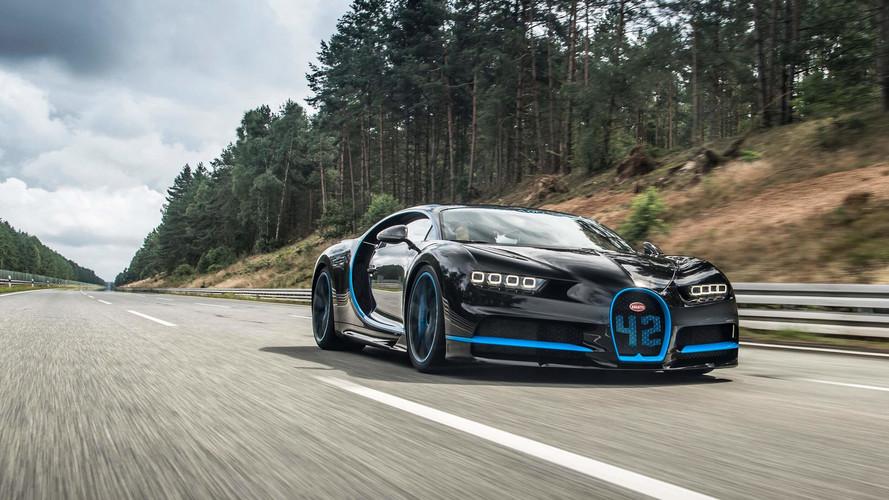 Bugatti Chiron bate recorde mundial de aceleração
