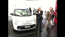 La Fiat 500L al Centro Stile Fiat