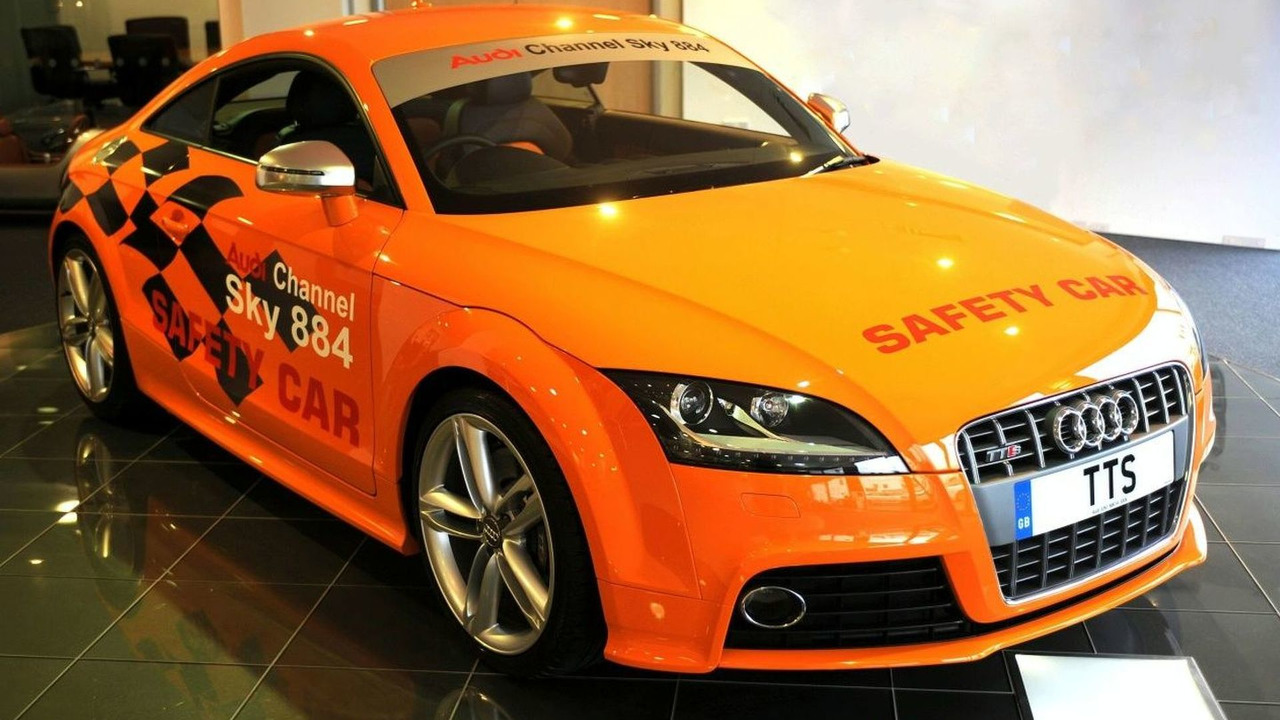 Audi TT-S is Isle of Man TT Official Car