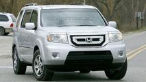 2009 Honda Pilot spy photo
