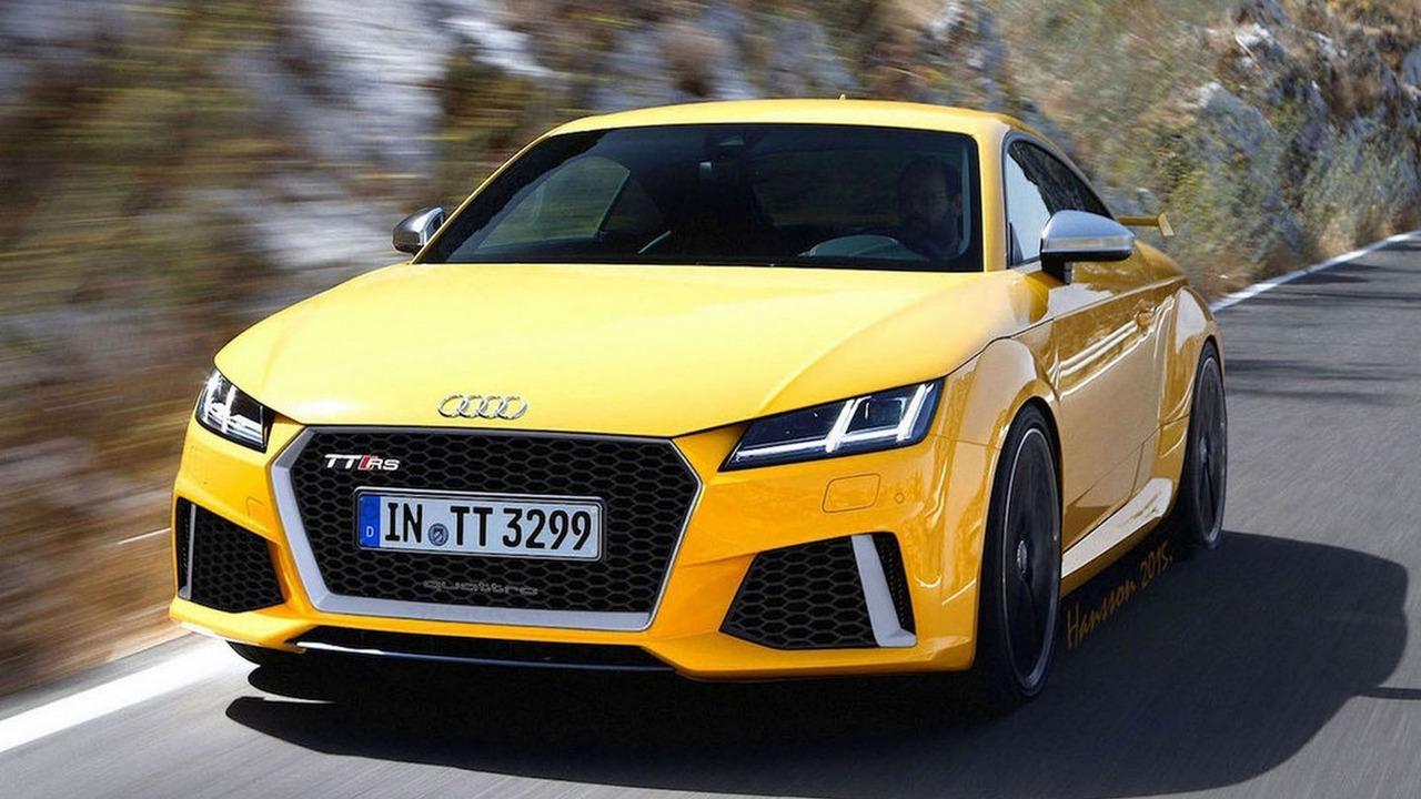 Audi TT RS render