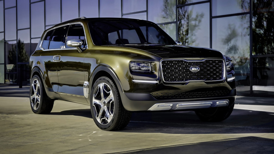 Kia Telluride Big SUV Production Version To Look Like The Concept