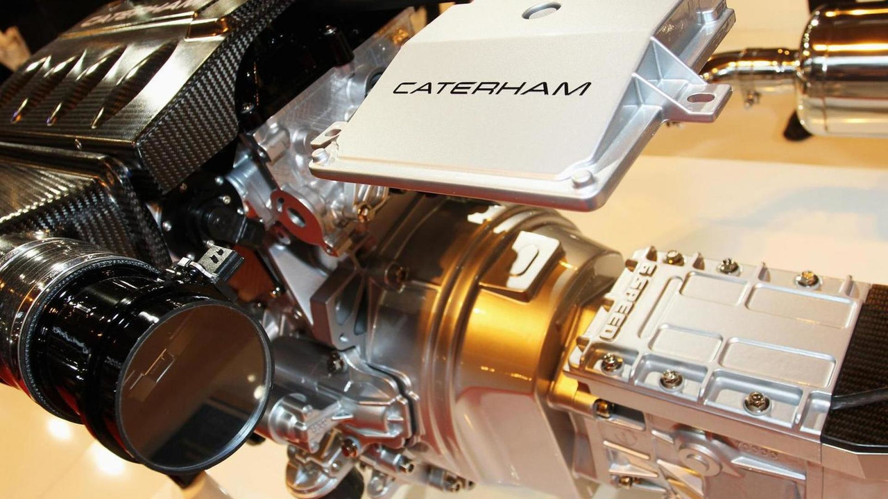 New EU5 Caterham engine
