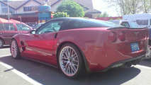 Corvette ZR1 spotted in Germany