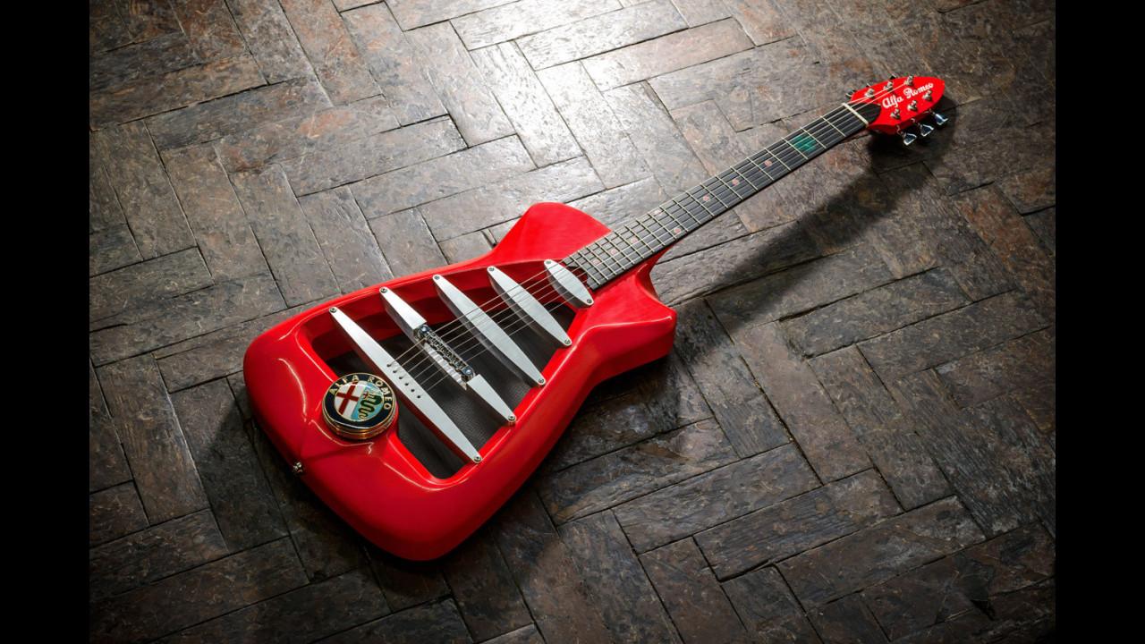Alfa Romeo by Harrison Custom Guitars