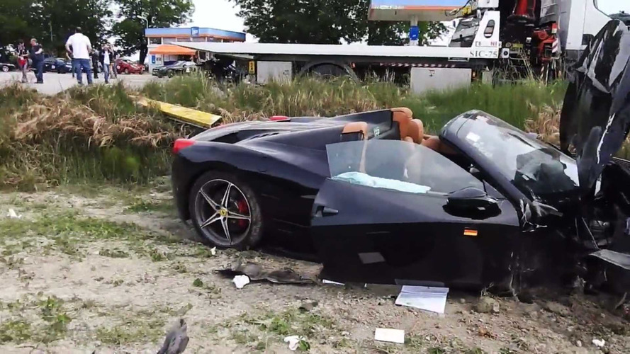 Un terrible accident aux Mille Miglia