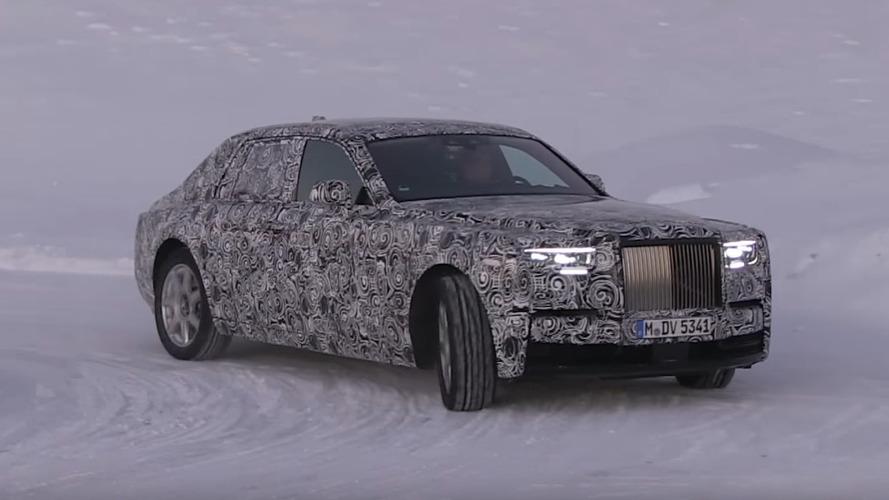 2018 Rolls-Royce Phantom karda görüntülendi