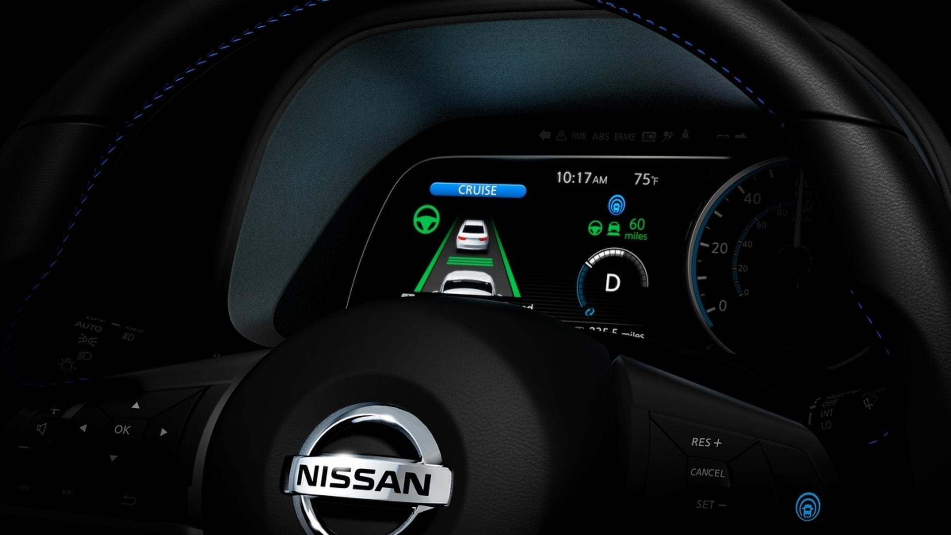 Новый Nissan Leaf сфотографировали без камуфляжа ...