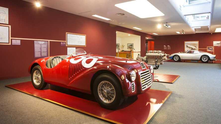 Rare Behind-The-Scenes Ferrari Exhibit Heads To London