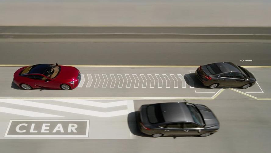 [VİDEO] Lexus'un Lane Valet teknolojisi