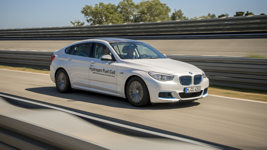BMW Hydrogen Fuel Cell 5 Series GT