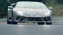 Lamborghini Huracan Performante Nurburgring teaser