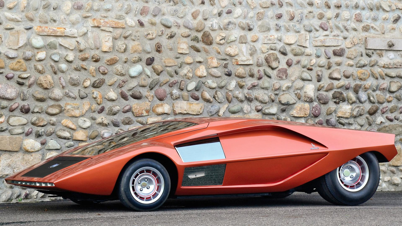 1970 Bertone Stratos Zero Concept