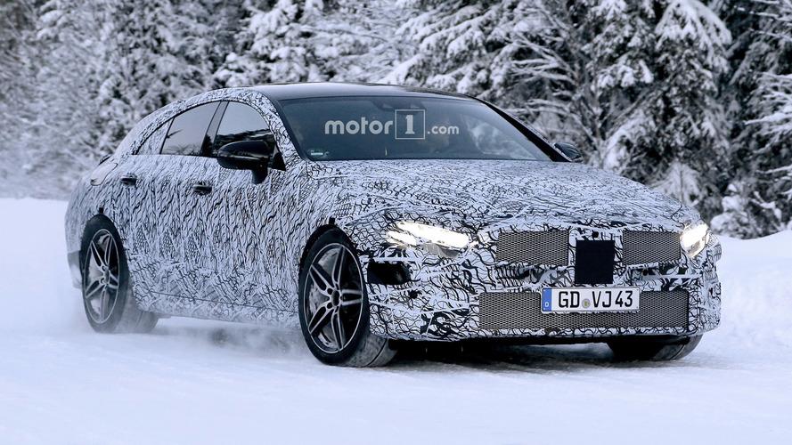 2018 Mercedes CLS kamuflajlı şekilde görüntülendi