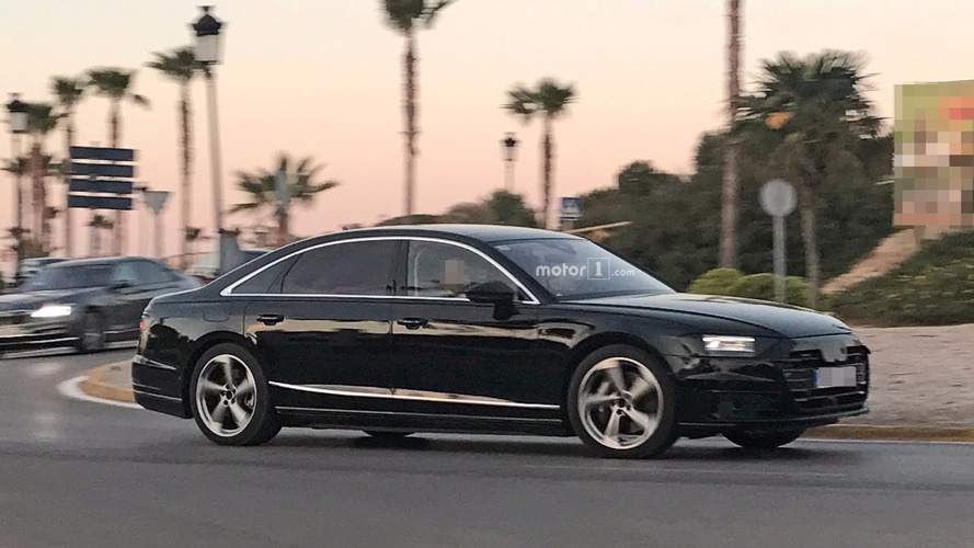 2018 Audi A8 Drops Camouflage In New Spy Photos