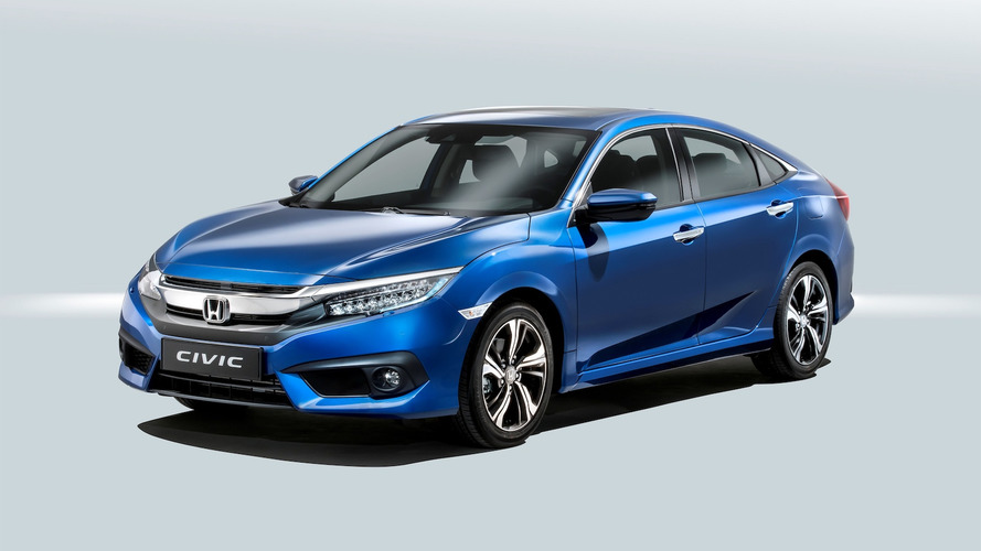 Honda Civic Sedan 2017: confirmado para el mercado español