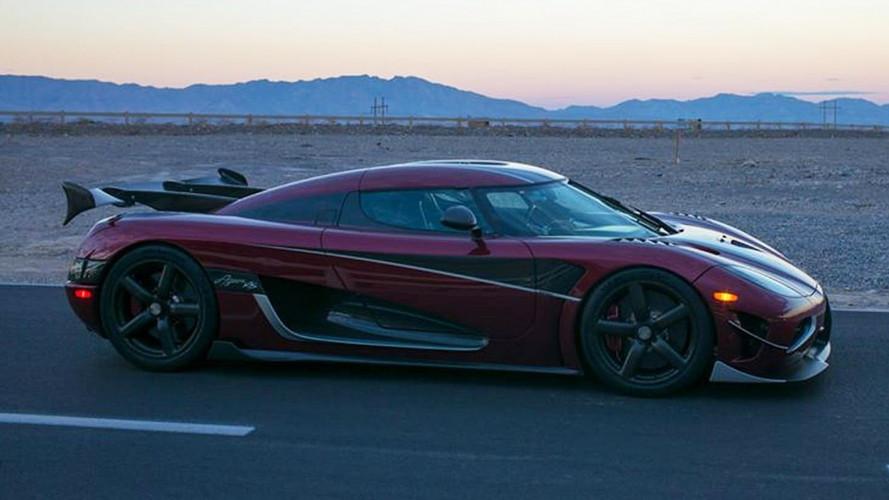 Koenigsegg Agera RS, a 447 km/h è l'auto più veloce del mondo