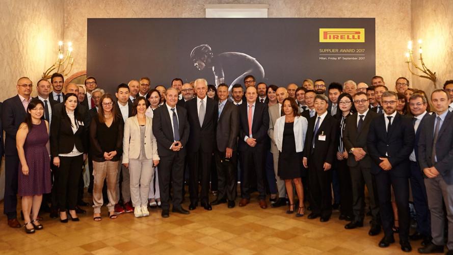 Supplier Award Pirelli, super premiati i fornitori di materie prime