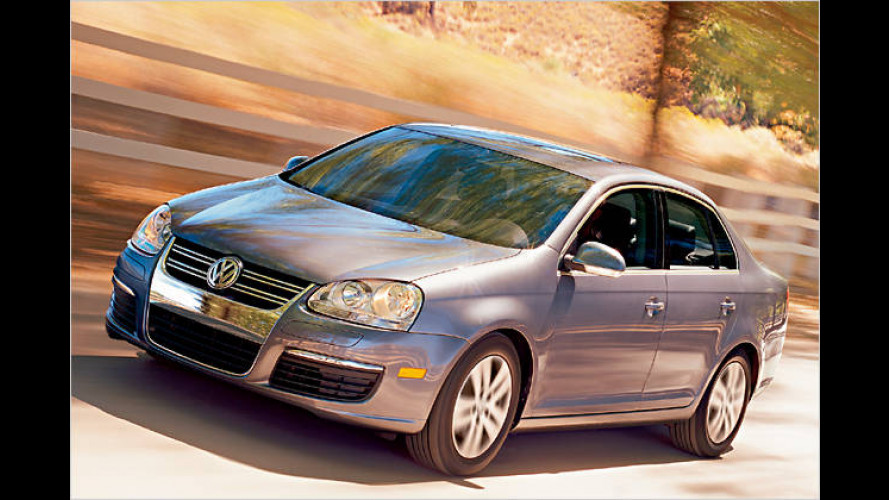 Blauer Volkswagen-Diesel für die Vereinigten Staaten
