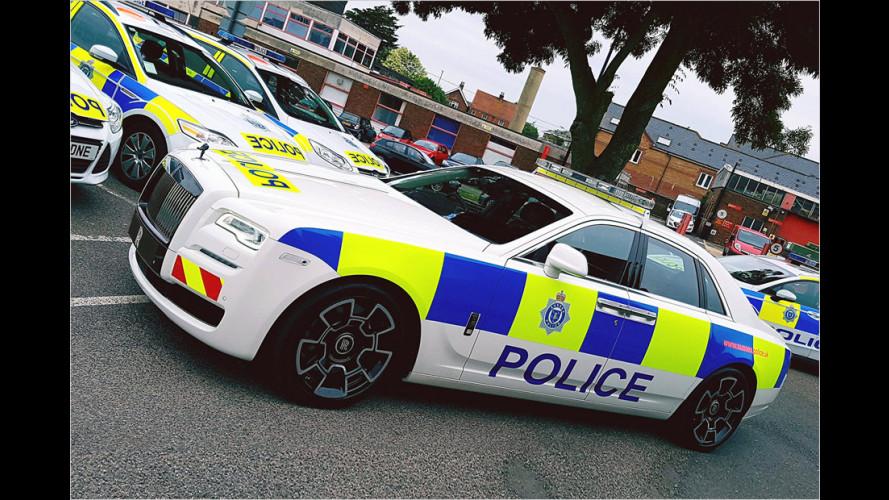 Prunkvoller Polizeiwagen