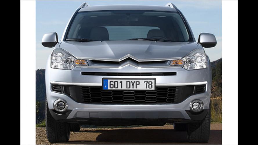Citroën gibt Preise für sein Kompakt-SUV C-Crosser bekannt