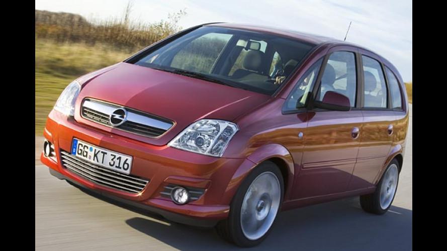 Opel Meriva: Facelift und neue Motoren für kleinen Van