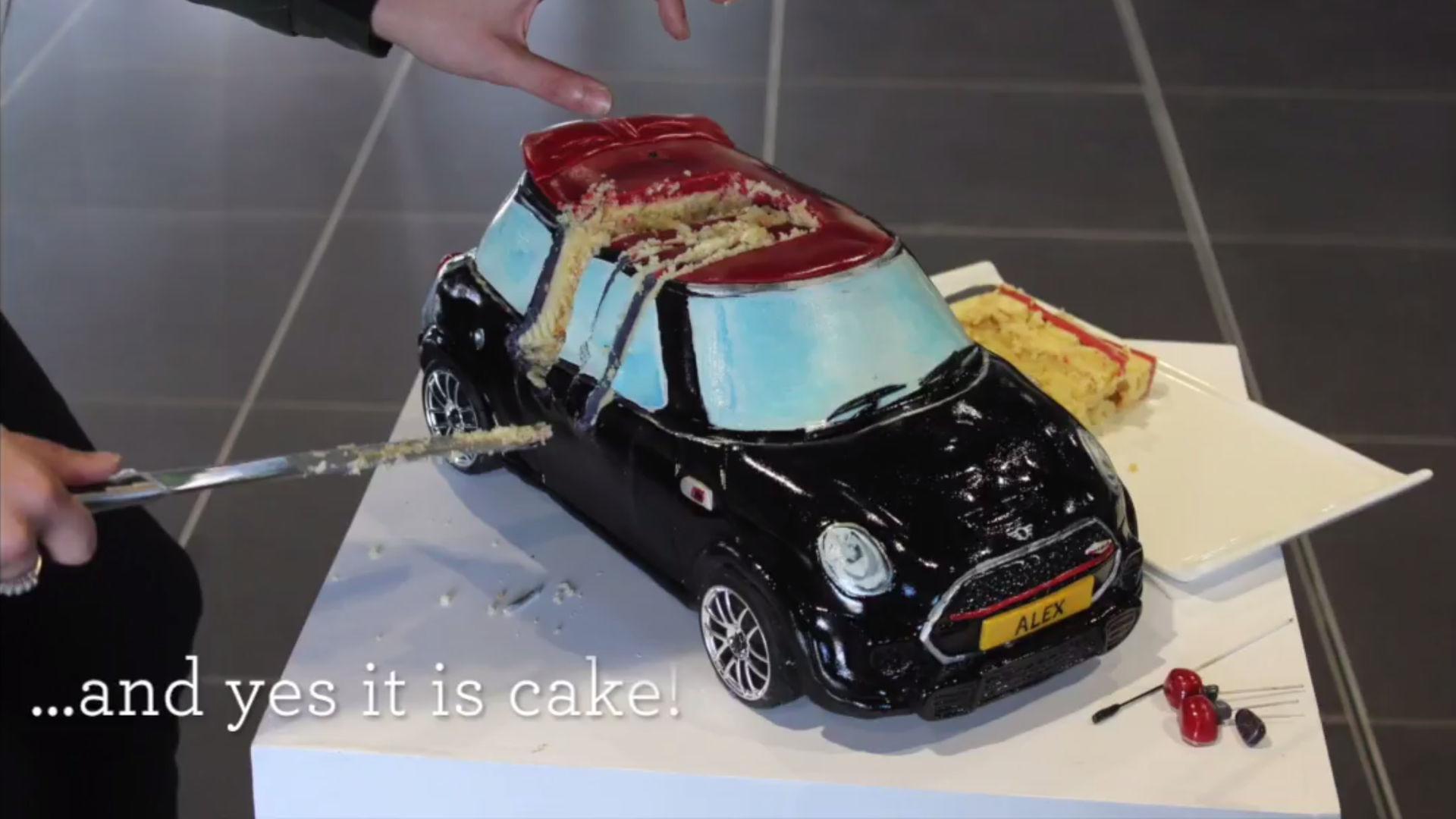 Radio Controlled Mini Cooper Cake Redefines Fast Food