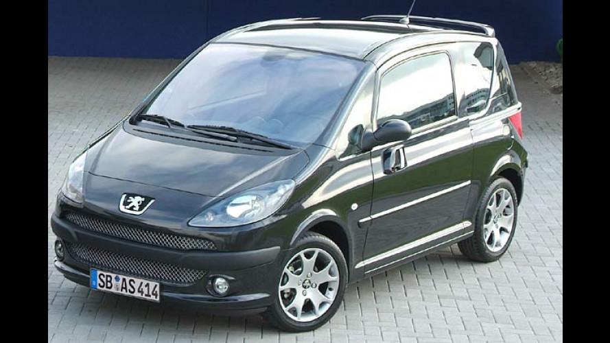 Peugeot: Sportliche Sondereditionen für 206 CC und 1007