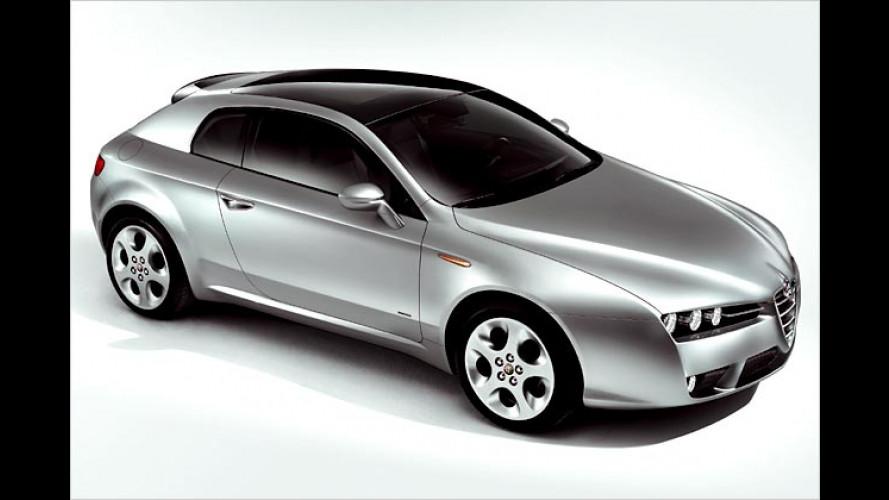 Alfa Romeo Brera: Der erste aus der Sippe des Alfa 157