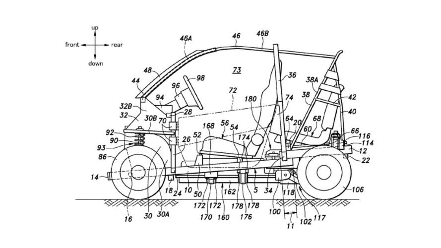 Honda patenti, minik EV modelinin tasarımını sergiliyor