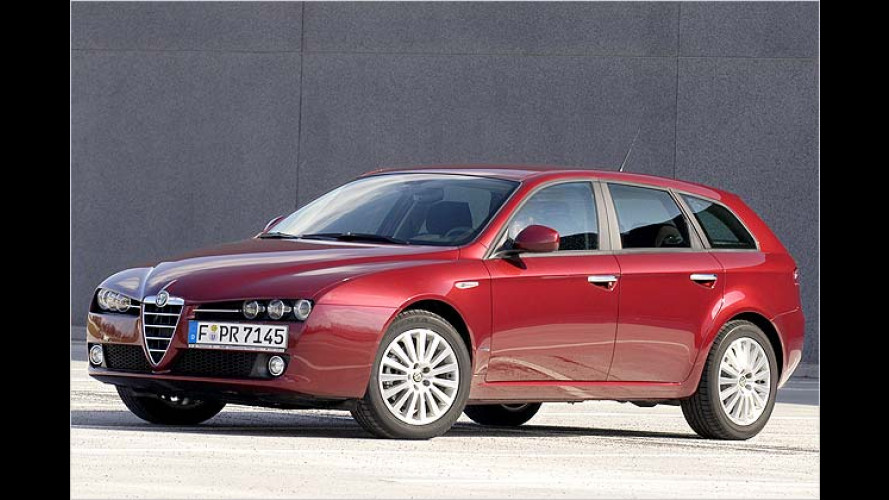 Der neue Alfa 159 Sportwagon: Emotions-geladener Kombi