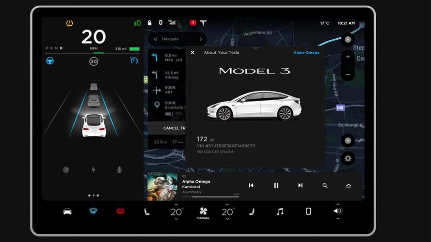 Tesla Model 3 2018: prueba su pantalla desde casa